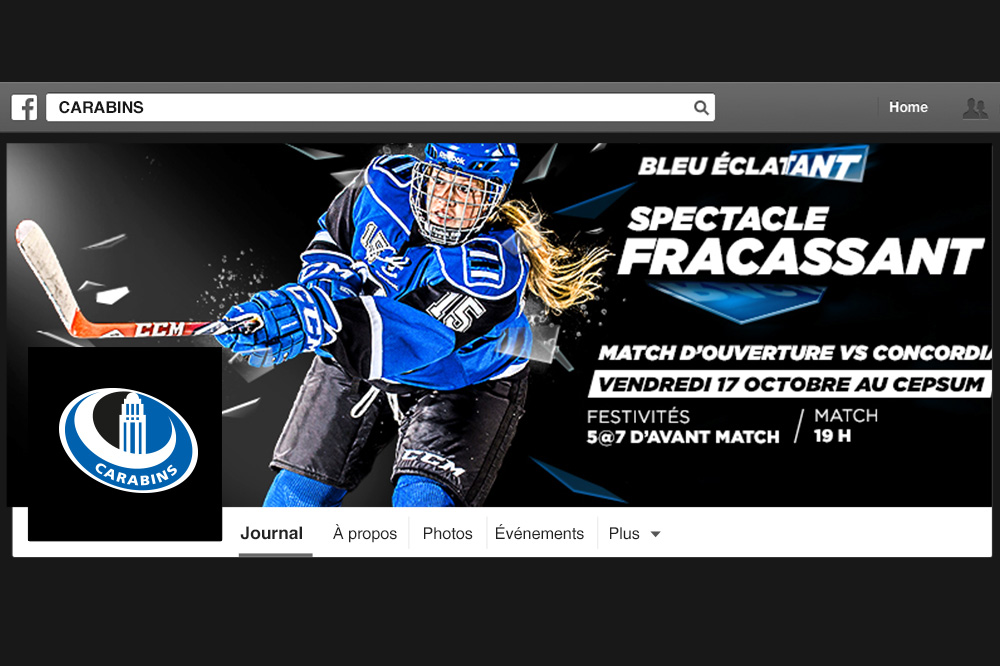 Facebook-hockey