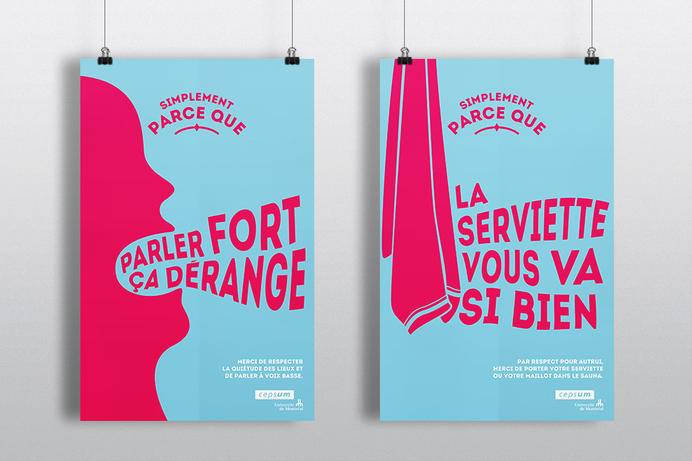 2 affiches